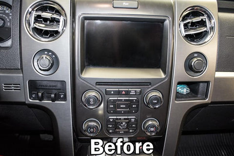 2012-2014 Ford Raptor - Executive Style Center Dash Trim