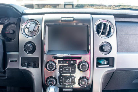 2012-2014 Ford Raptor - Executive Style Center Dash Trim American Car Craft