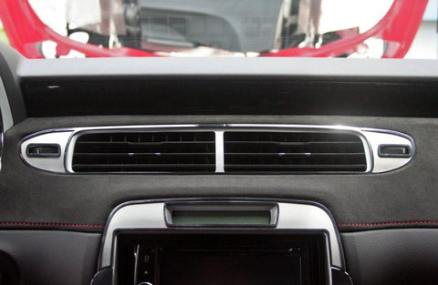 2012-2015 Camaro - A/C Vent Trim Brushed/Polished Center Kit