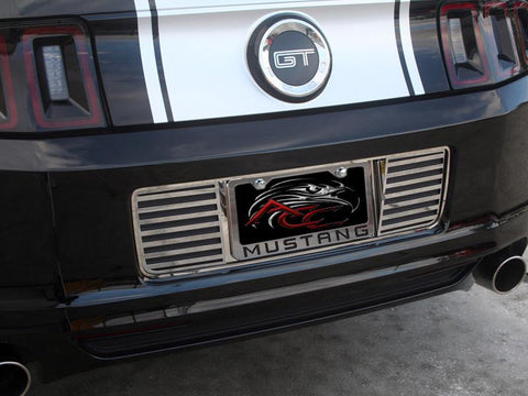 2013 Mustang - Slotted Tag Back Polished American Car Craft