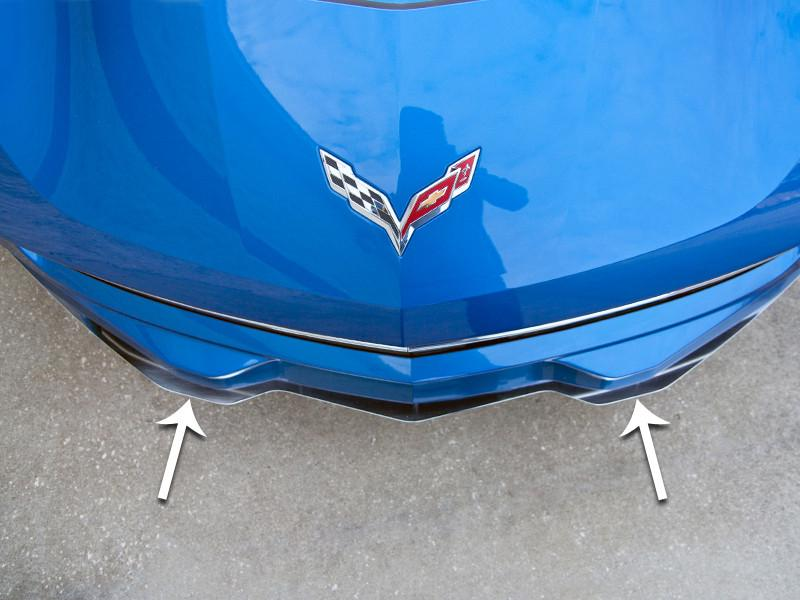 2014-2017 C7 Corvette Stingray - Front Lip Spoiler CHOOSE STYLE American Car Craft