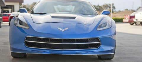 2014-2019 C7 Corvette Stingray - Front Grille Factory Trim Ring | Polished Stainless Steel