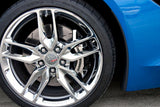2014-2017 C7/Z51 Corvette Stingray - Front & Rear Polished Brake Caliper Covers 18pc American Car Craft