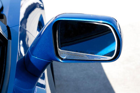 2014-2018 Corvette Stingray -Side View Mirror Trim Stingray Lettering 2pc American Car Craft