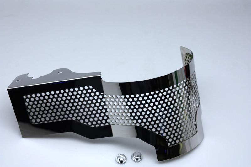 2014-2019 C7 Corvette Stingray - Alternator Cover Perforated or Polished American Car Craft