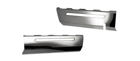 2014-2019 C7/Z51 Corvette Stingray - 2pc Fuel Rail Covers Factory Overlay With Polished/Brushed Trim American Car Craft