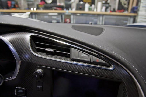 2014-2019 C7/Z51 Corvette Stingray - A/C Vent Trim 2Pc  | Polished Stainless Steel