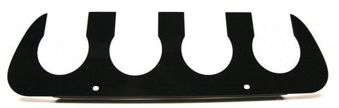2014-2019 C7/Z51 Stingray/ZR1/Z06 Corvette - Exhaust Filler Plate Powder Coated Black | NPP VERSION