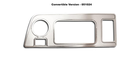 2014-2019 Corvette C7 - Mirror Control/ HUD Trim Plate American Car Craft Convertible