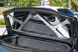 2014-2019 Corvette C7 Stingray Convertible - Polished Trunk Lid Trim Kit with Brushed Brace American Car Craft