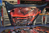 2014-2019 Corvette Z06/Grand Sport - Illuminated Hood Trim With Center Brace For All Hood Panels American Car Craft