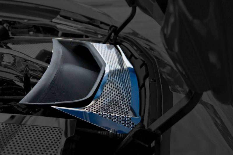 2014-2019 Corvette Z06/Z51/C7 Stingray - Vent Tube Cover CHOOSE STYLE American Car Craft Perforated