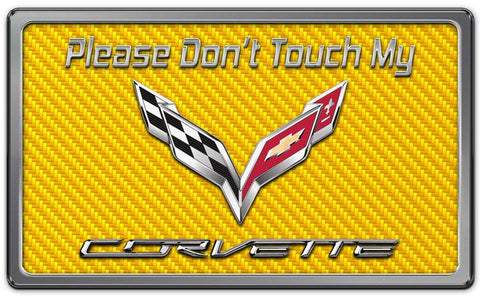 2014-2019 Z06/C7/Z51 Corvette Stingray -Dash Plaque | CHOOSE Color American Car Craft