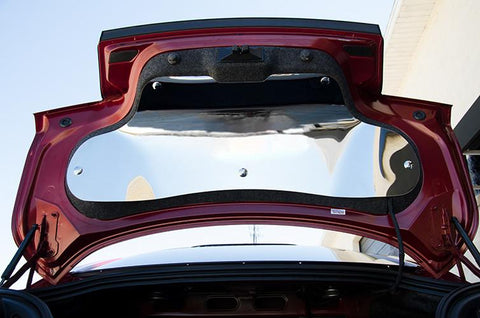 2015-2016 Ford Mustang- Trunk Lid Panel | Polished Stainless American Car Craft