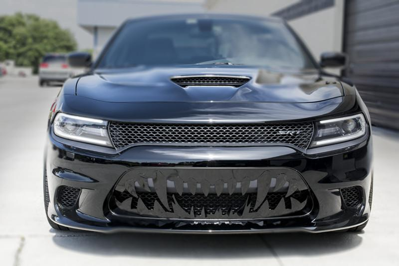 2015-2017 Dodge Charger Hellcat - Sabretooth Grille American Car Craft