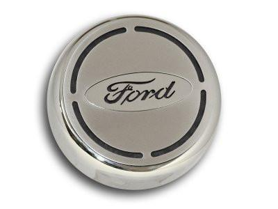 2015-2017 Ford Mustang - Ford Oval Engine Fluid Cap Cover 4Pc Set - Choose Color