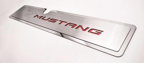 2015-2017 Mustang GT - Radiator Cover Vanity Plate | Pony & Mustang American Car Craft
