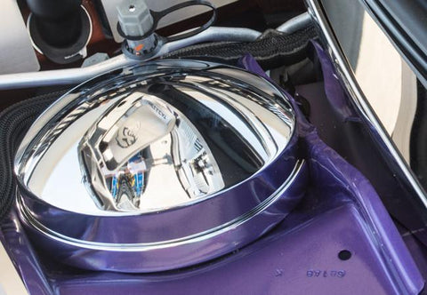 2015-2019 Challenger HELLCAT - Shock Tower Dome Cover Polished Drivers Side Only