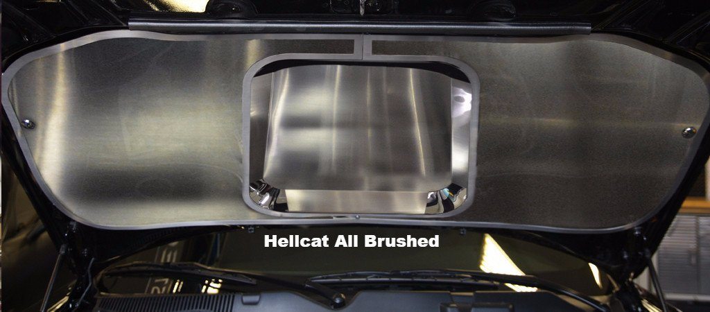 2015-2018 Challenger/Hellcat/SRT/and RT - Hood Panel Polished or Brushed Choose Finish American Car Craft