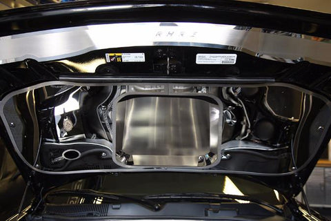 2015-2019 Challenger/Hellcat/SRT/and RT - Hood Panel | Stainless Steel, Choose Finish