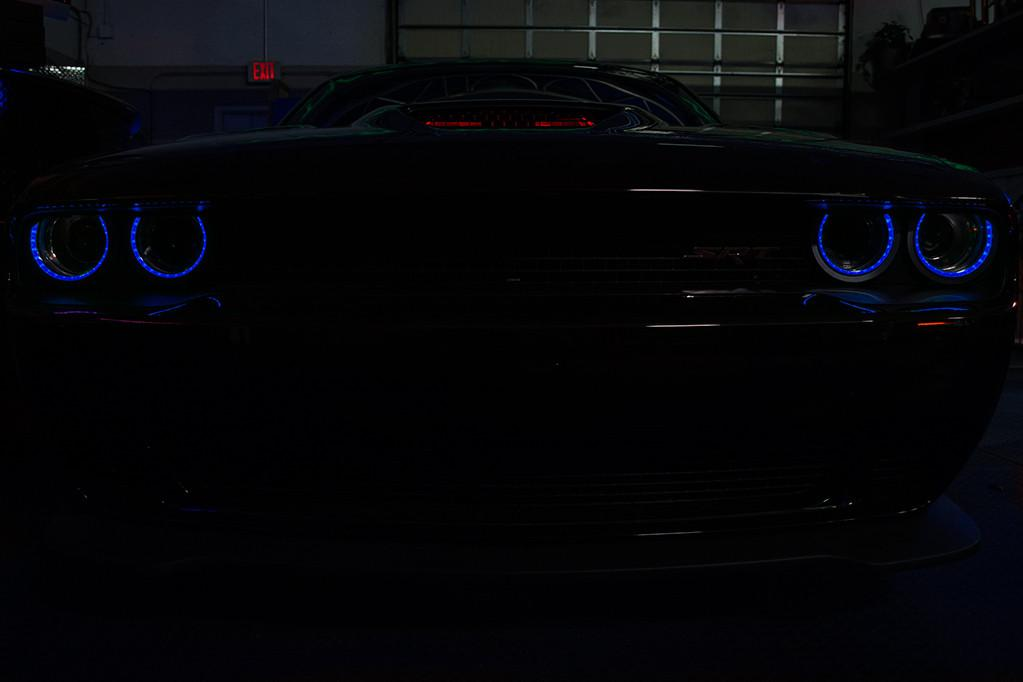 2015-2018 Dodge Challenger | LED Headlight Surrounds American Car Craft