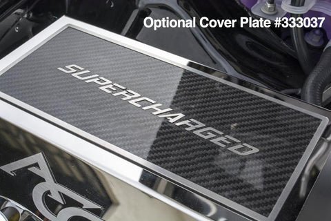 2015-2018 Dodge Hellcat - Fuse Box Cover with Optional Cover Plate Accessory American Car Craft