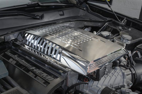 2015-2019 Dodge Hellcat - Plenum/Supercharger Engine Cover | Premium Stainless Steel