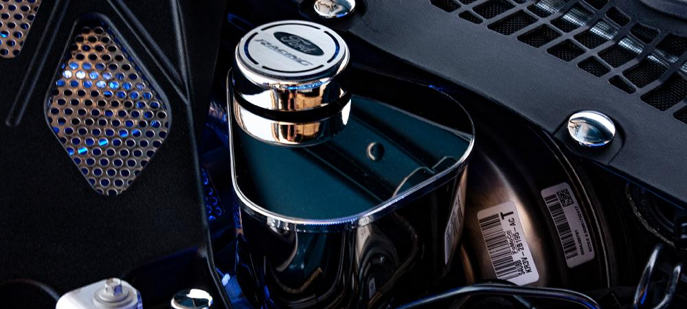 2015-2020 Mustang - Master Cylinder Cover | Polished Stainless Steel American Car Craft