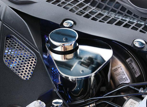 2015-2020 Mustang - Master Cylinder Cover | Polished Stainless Steel