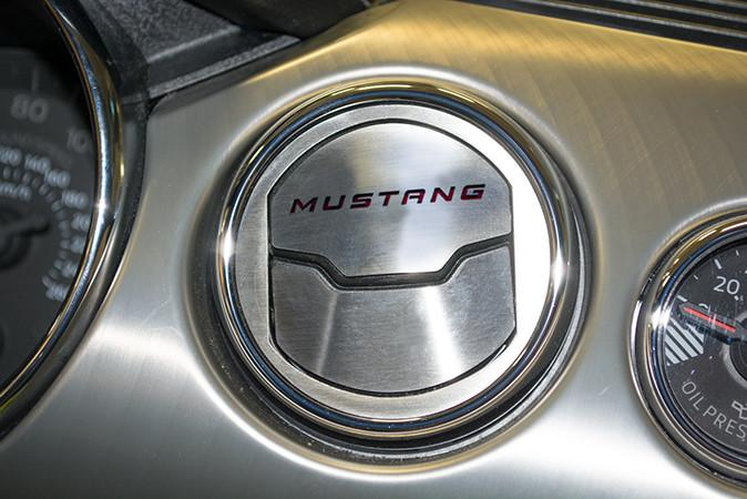 2015 Mustang 50th - A/C Vent (2) Trim Kit w/MUSTANG Inlay CHOOSE Color American Car Craft