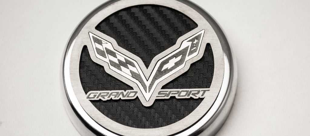 2016-2017 Chevrolet Corvette C7 Grand Sport, Fluid Cap Cover Set American Car Craft