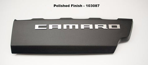 2016-2020 V8 SS Camaro - CAMARO Fuel Rail Letters | Stainless Steel, Choose Finish