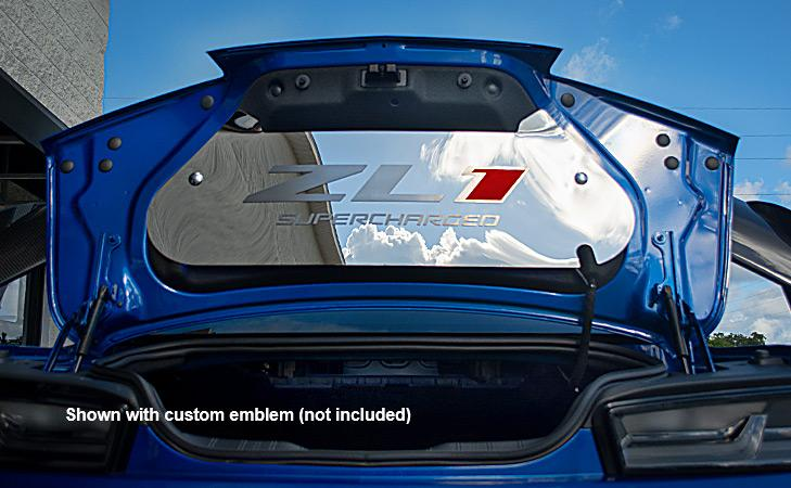 2016-2020 Chevrolet Camaro - Trunk Lid Panel | Stainless Steel, Choose Finish American Car Craft