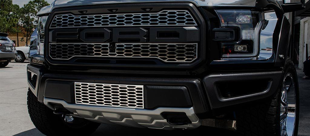 2017 - 2018 Ford Raptor - Front Lower Grille Overlay American Car Craft