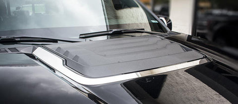 2017 - 2018 Ford Raptor - Hood Vent Trim Polished