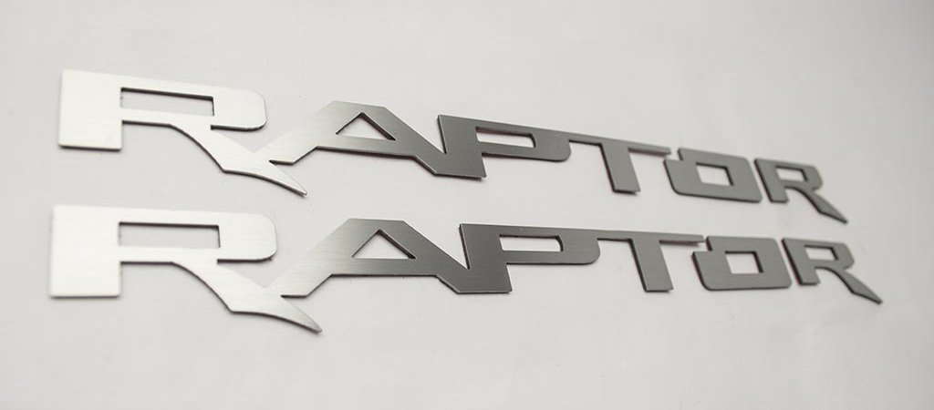 2017 - 2018 Ford Raptor - Running Board Raptor Emblems | 2PC American Car Craft