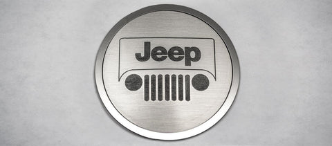 A/C Duct Trim Plate - Jeep Logo Style [07-18 Jeep Wrangler JK] | (4) PC American Car Craft