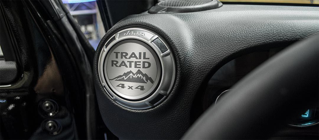 A/C Duct Trim Plate - Trail Rated Style [07-18 Jeep Wrangler JK] | (4) PC American Car Craft