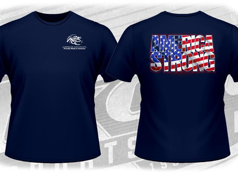 AMERICA STRONG Limited Edition Tee Shirt | Navy Blue