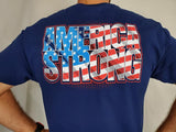 AMERICA STRONG Limited Edition Tee Shirt | Navy Blue Apparel
