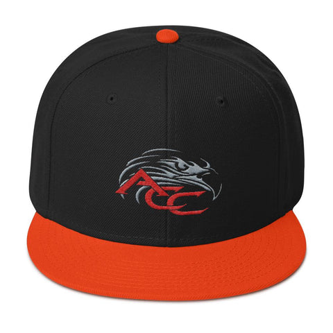 American Car Craft Color Choice Snapback Hat American Car Craft Orange / Black / Black