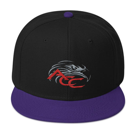 American Car Craft Color Choice Snapback Hat American Car Craft Purple / Black / Black