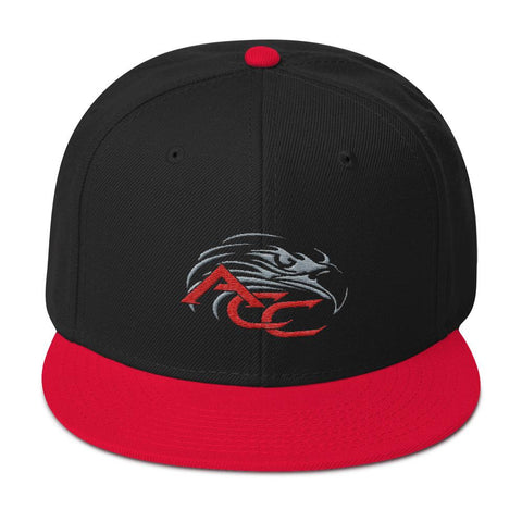 American Car Craft Color Choice Snapback Hat American Car Craft Red / Black / Black
