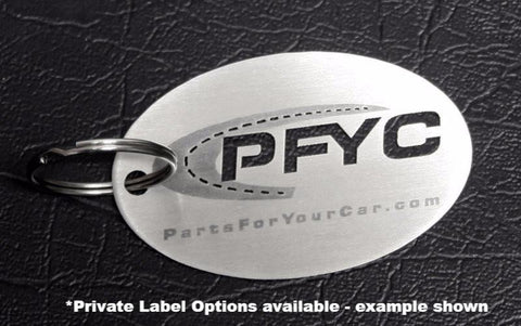 American Car Craft - Custom Made Laser Etched Stainless Steel Key Chains American Car Craft