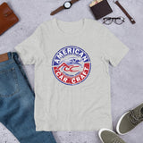 American Car Craft Emblem Style Short-Sleeve Unisex T-Shirt American Car Craft Athletic Heather
