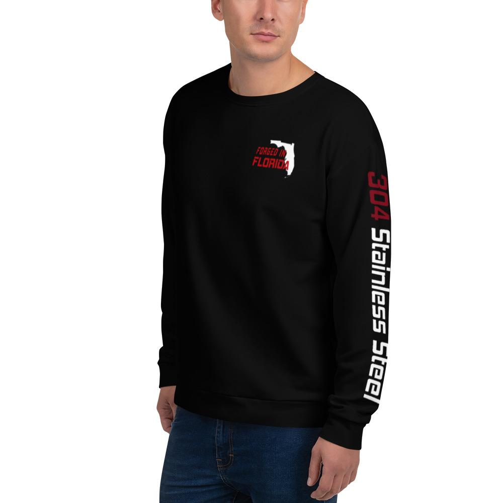 "American Car Craft ""Forged in Florida"" Sweatshirt Printful"