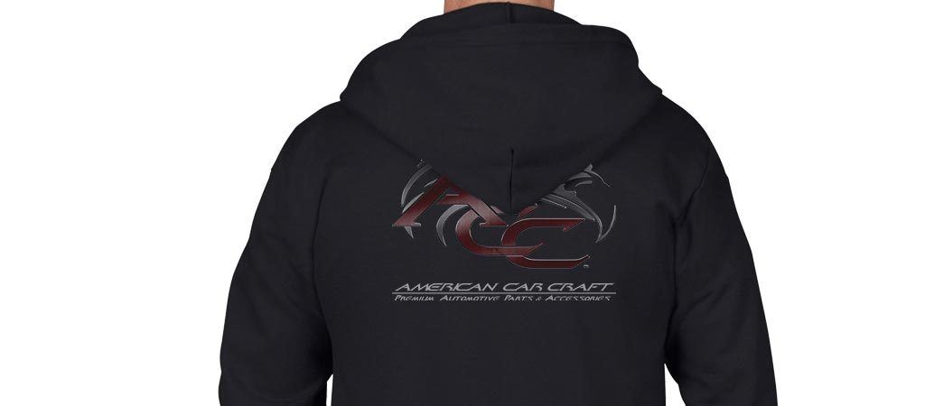 American Car Craft Zip-Up Hoodie American Car Craft Apparel