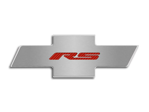 "Camaro 2010-2015 - Hood Badge ""RS"" Emblem for Factory Pad American Car Craft"