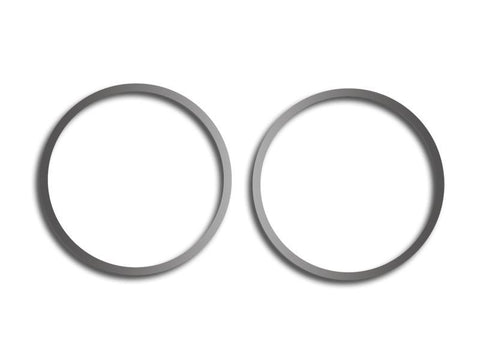 Camaro A/C Vent Trim Rings Polished Outer 2Pc 2010-2015 American Car Craft