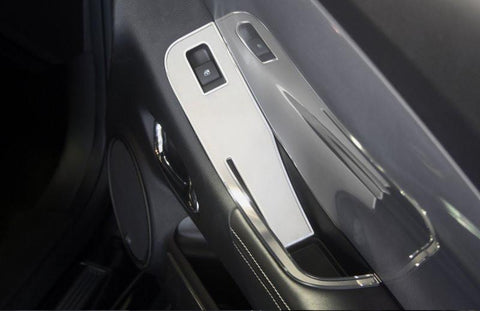 Camaro Door Handle Pull / Switch Deluxe Trim Plate 2Pc 2010-2011 Coupe only American Car Craft